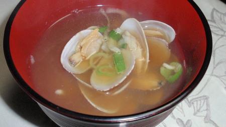 アサリのお味噌汁