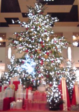 玉川高島屋クリスマスツリー