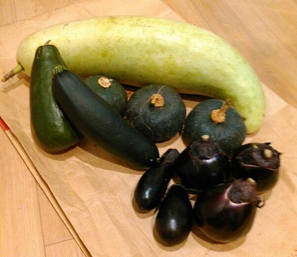 野尻の野菜