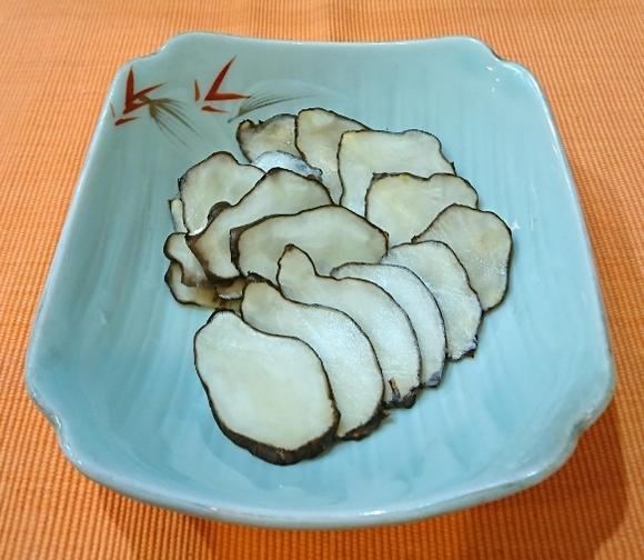 菊芋の糠漬け
