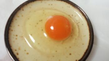 卵を割ったら