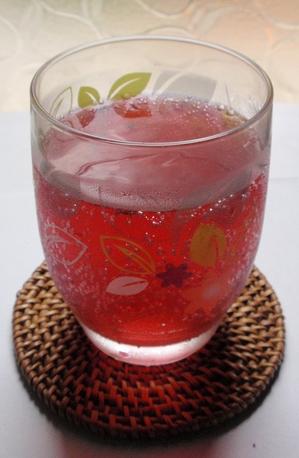 シソ酢ジュース