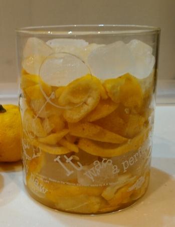 柚子氷砂糖漬け