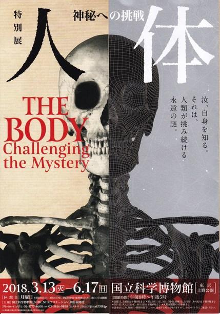 特別展「人体」